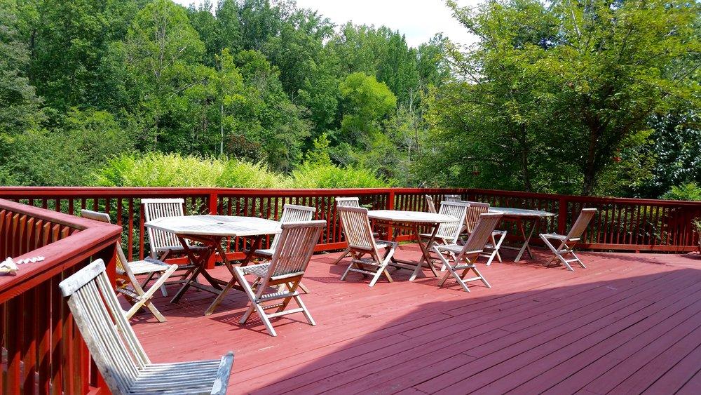 Retreat Center Hummingbird Porch