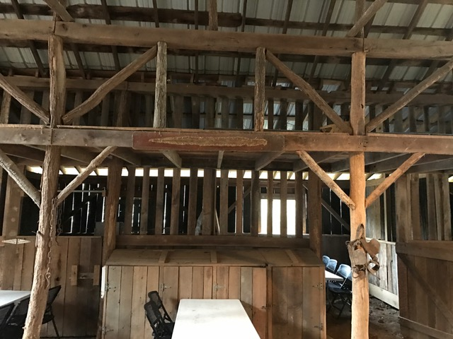 Barn 2 tables and stall.JPG