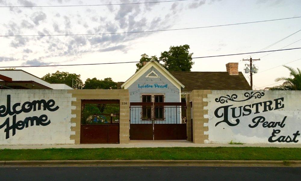 LUSTRE PEARL EAST   |  restaurant/bar 114 Linden Street, 78702   role  tenant representation