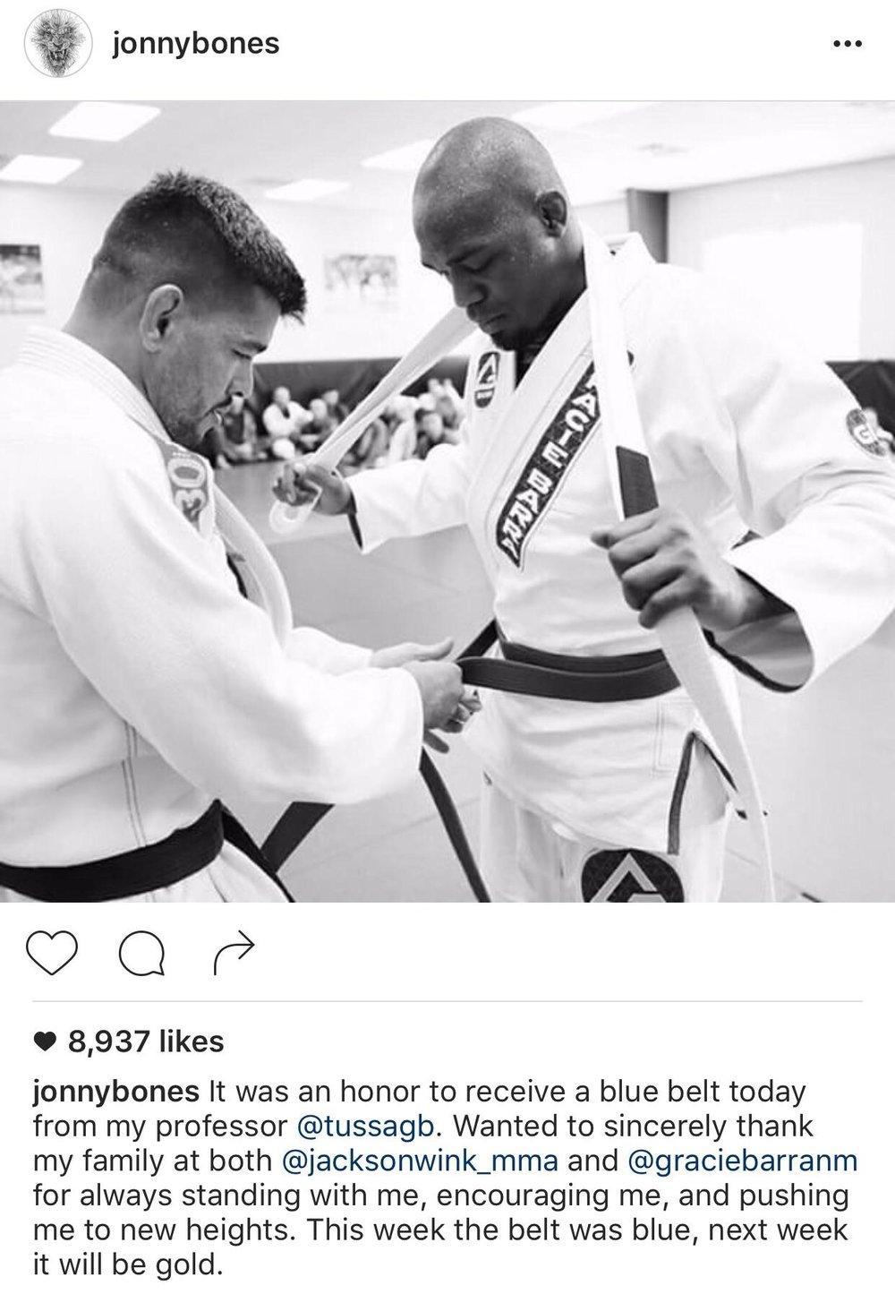 JonnyBones Instagram page
