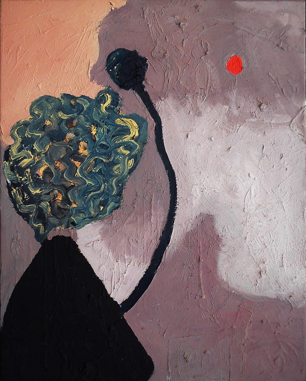 Planet X, oil on canvas, 51 x 41 cm, 2013