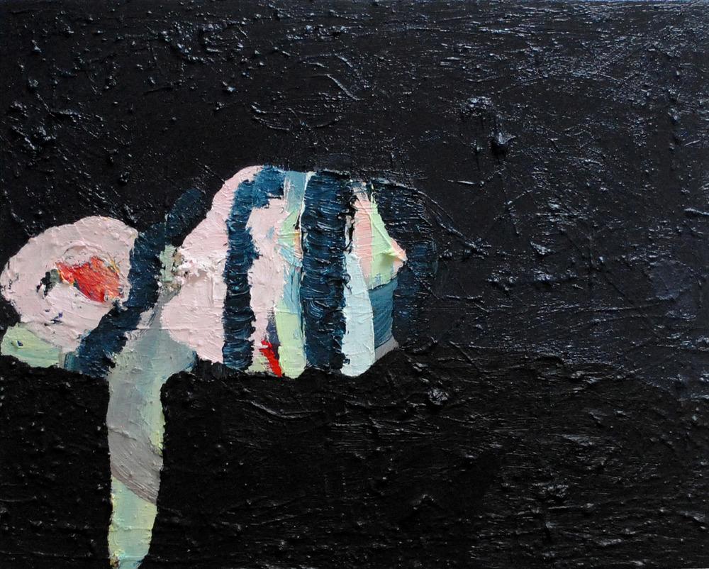 Sleeping Giant, oil on canvas, 41 x 51 cm, 2013