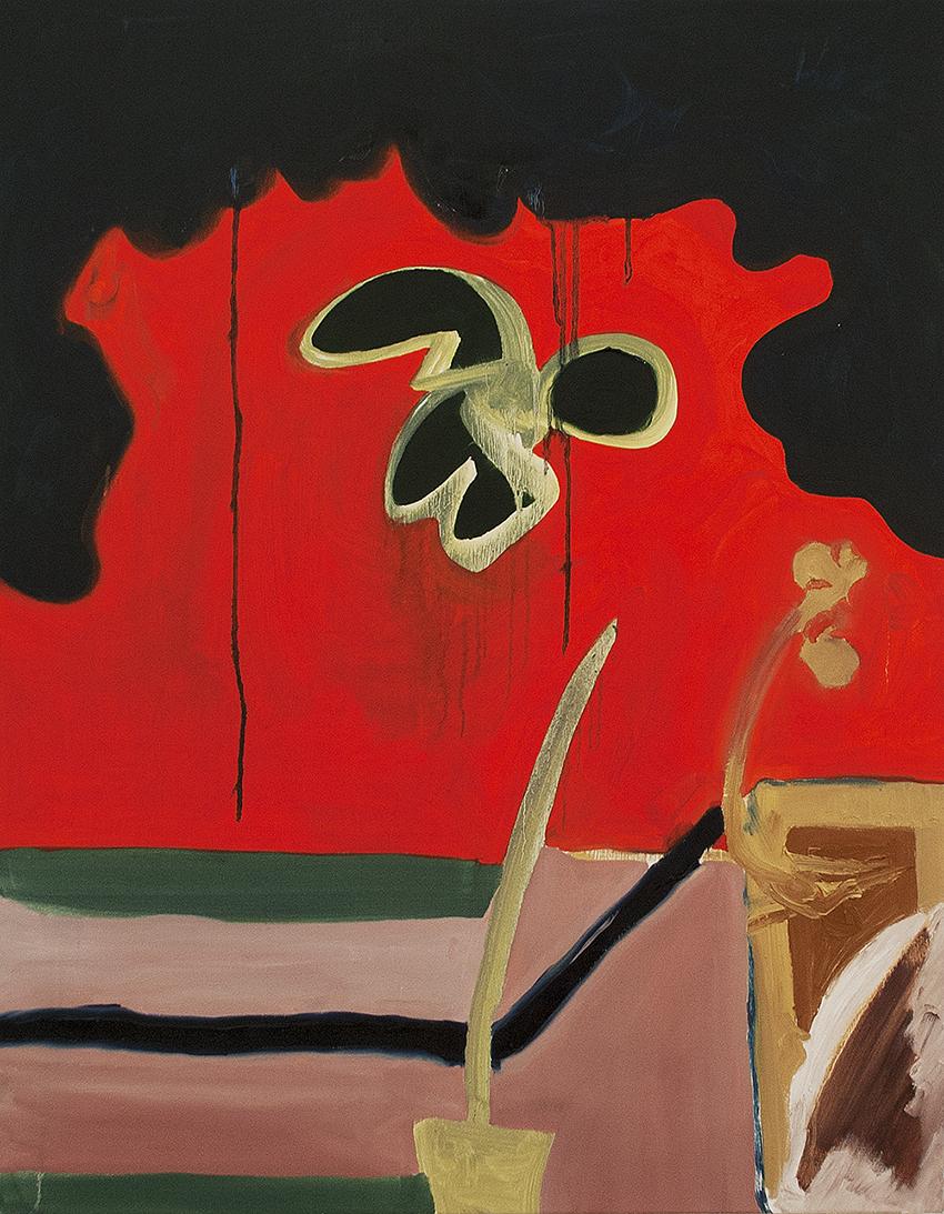Skipper, oil on canvas, 92 x 72 cm, 2014