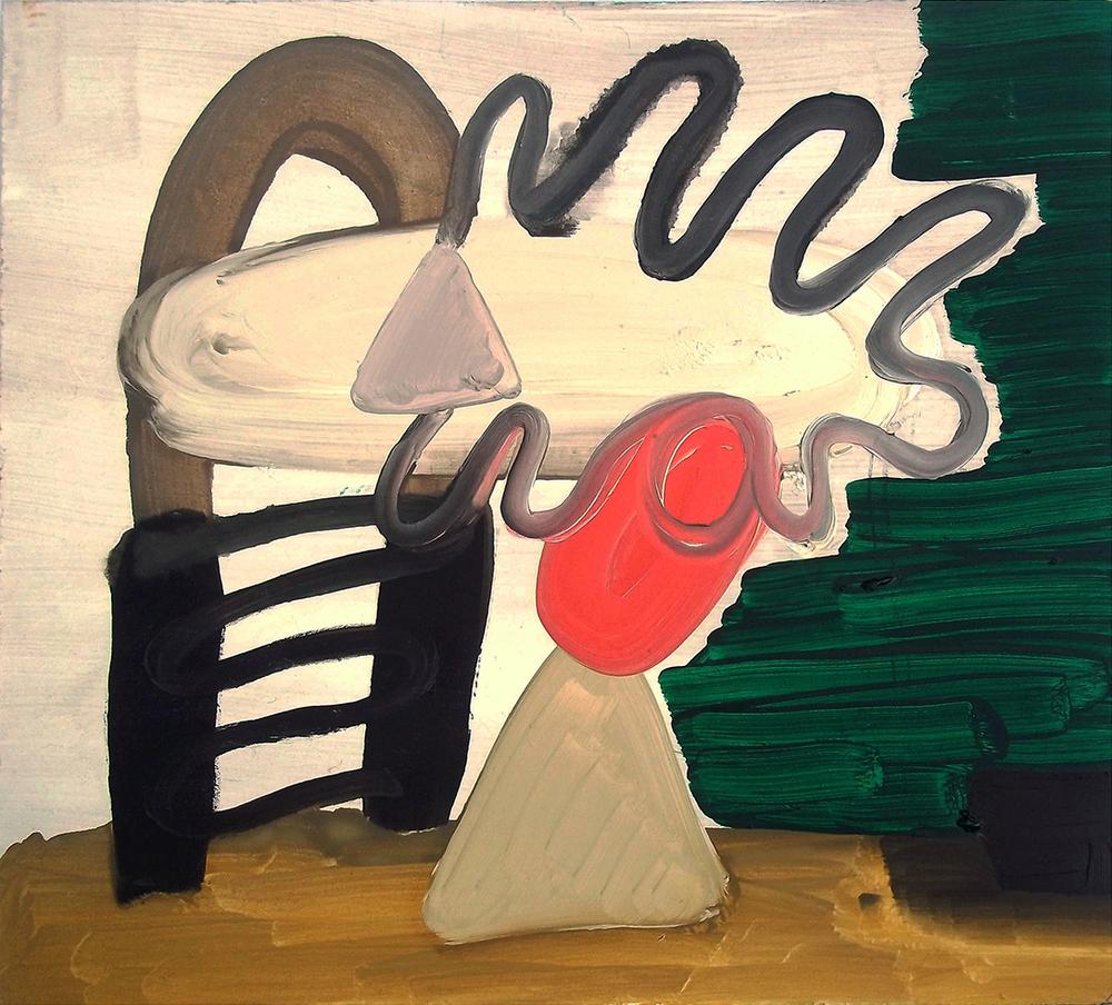Untitled, oil on board, 33 x 36 cm, 2012