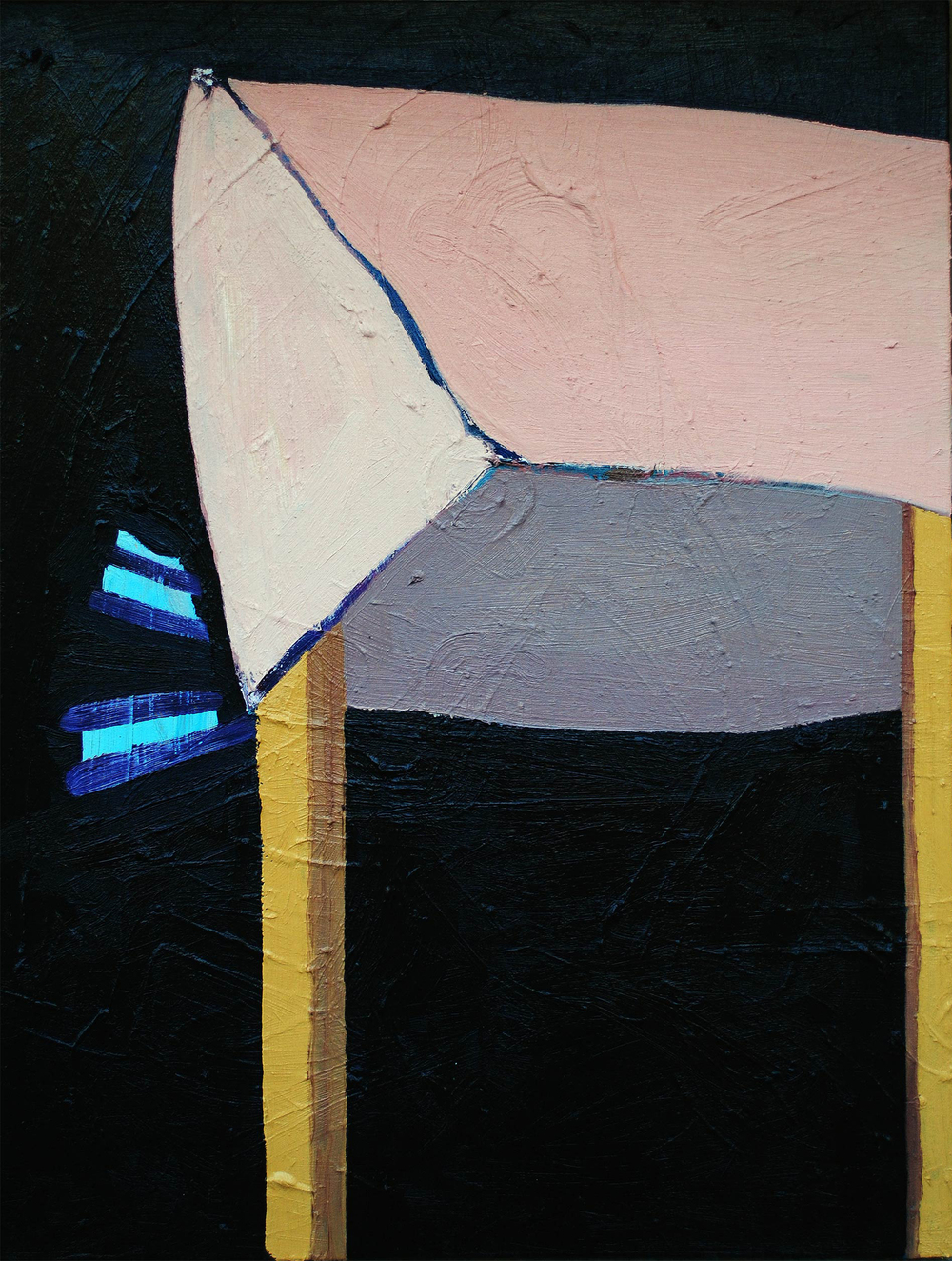 Untitled, oil on canvas, 70 x 53 cm, 2013