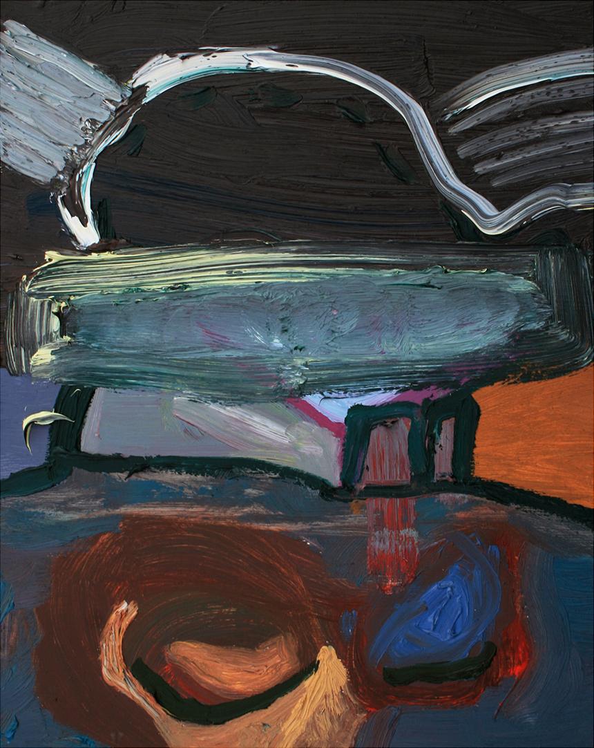 Untitled, oil on board, 31 x 25 cm, 2013