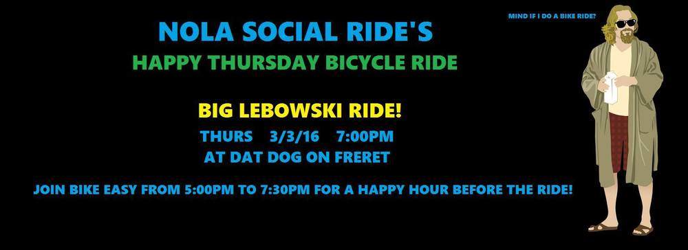 Big Lebowski Bike Ride in New Orleans! (hosted by NOLA Social Ride)