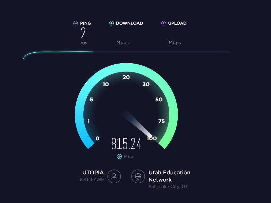 Lightning Fast Internet