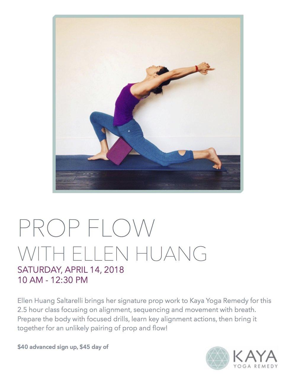 Prop Flow Ellen Saltarelli Kaya