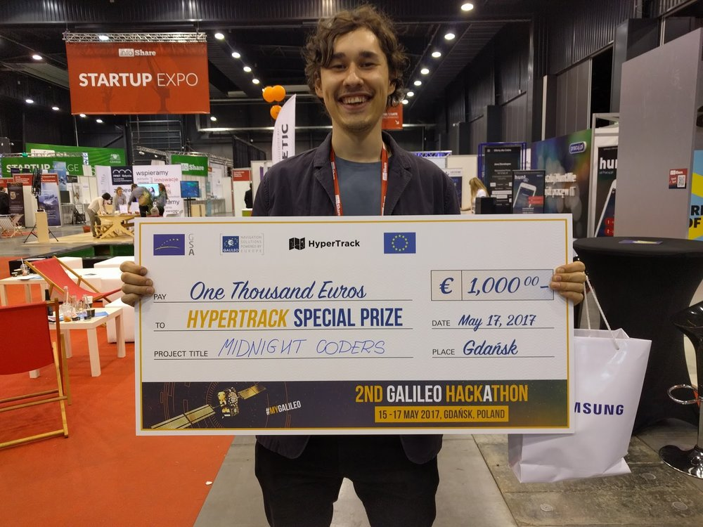 Hired to make an MVP and win a hackathon (We won)