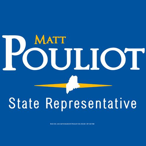 Matt Pouliot Campaign Logo