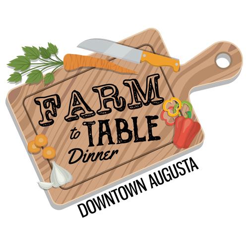 Augusta Downtown Alliance Farm to Table Dinner Logo