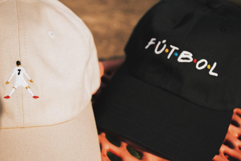 back of the net dad hats