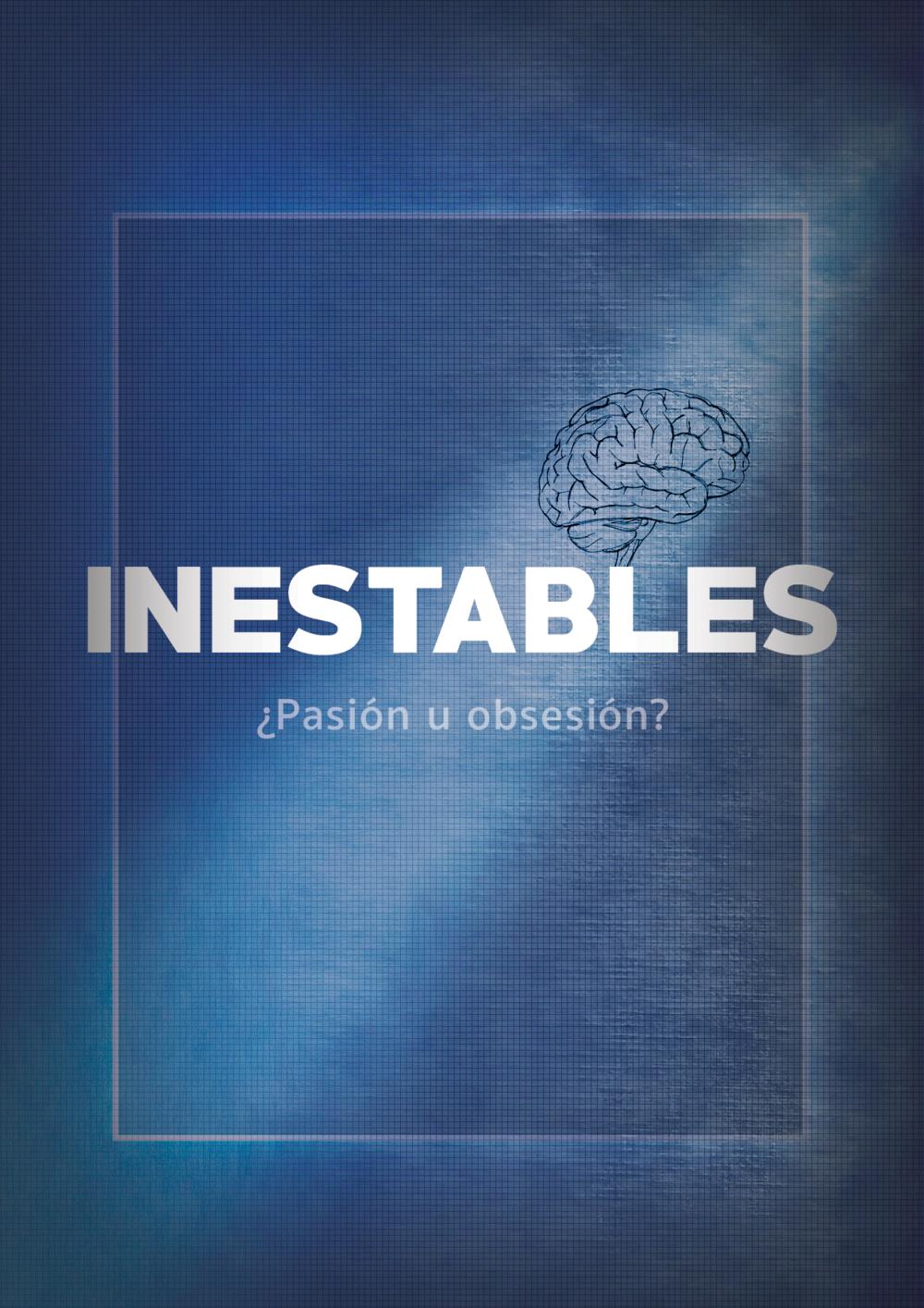 Inestables: Serie Web  Diseño de gráfica promocional y flyer para casting.