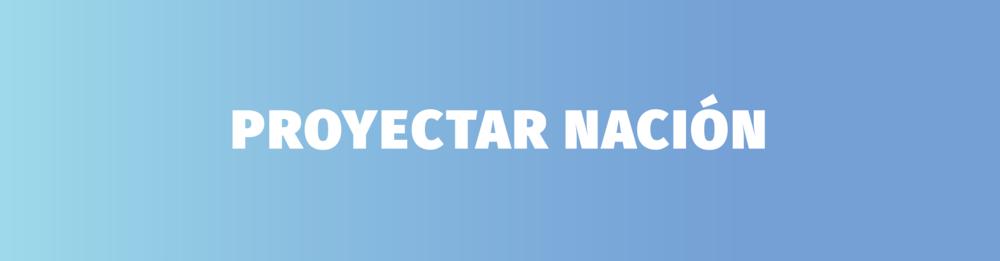 Proyectar Nación - Cover
