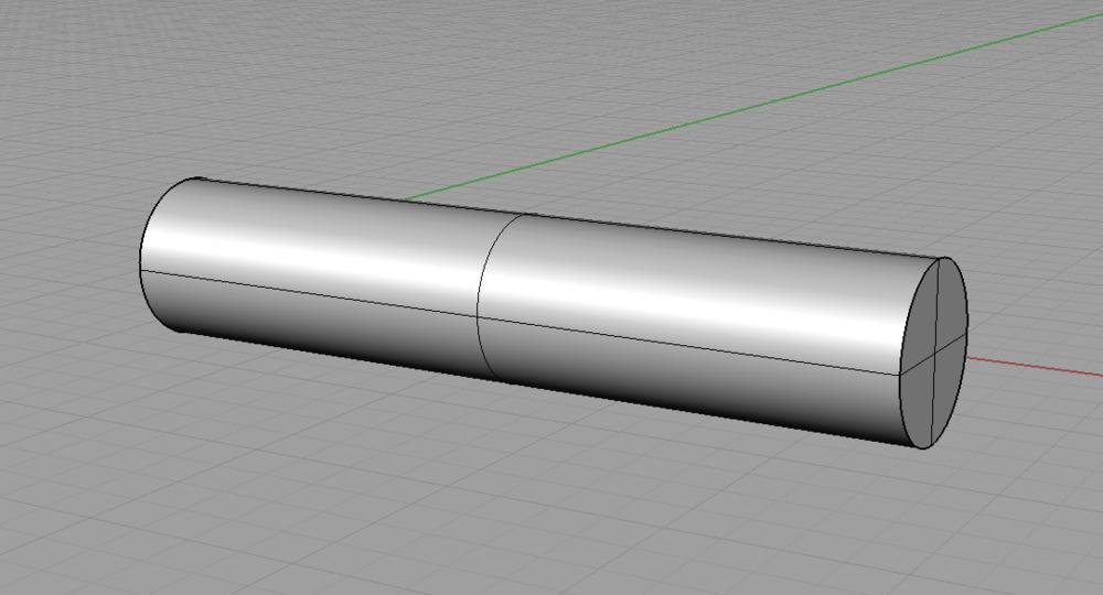 Cylinder X Axis