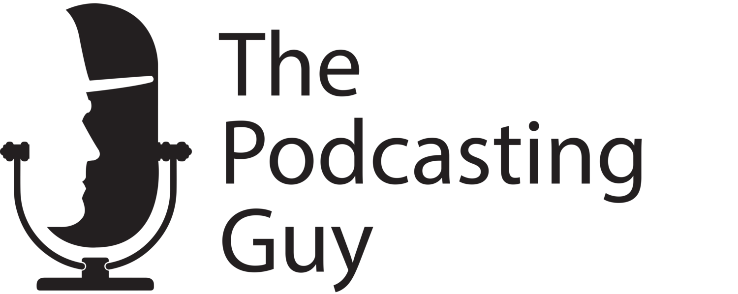 The Podcasting Guy | Podcast Editing, Show Notes and more!