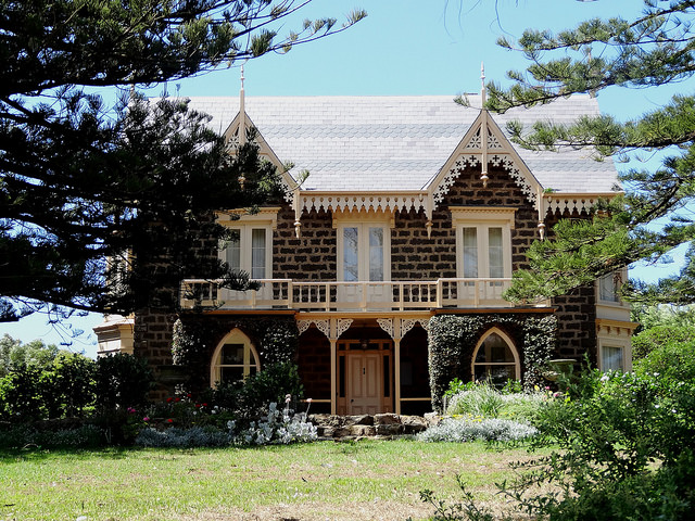 OPEN HOUSE: TALARA - SORRY, THIS EVENT HAS BEEN CANCELLED - Gold coin donationSun 22 July 12:30-4pmTalara House, 549 Princes Hwy, Port FairyGet up close to one of Port Fairy's most iconic houses. See inside the Gothic Revival architecture, with elaborately decorated gables and eaves, fret work and finials.Other features include the projecting bay windows, the façade's symmetrical arrangement and the patterned slate roofs.From the main house, wander to the stables for historical photos and stories of the property, then take a warm drink as you stroll the gardens. A fundraiser event for Winter Weekends.This event is proudly sponsored by Blake's Restaurant.