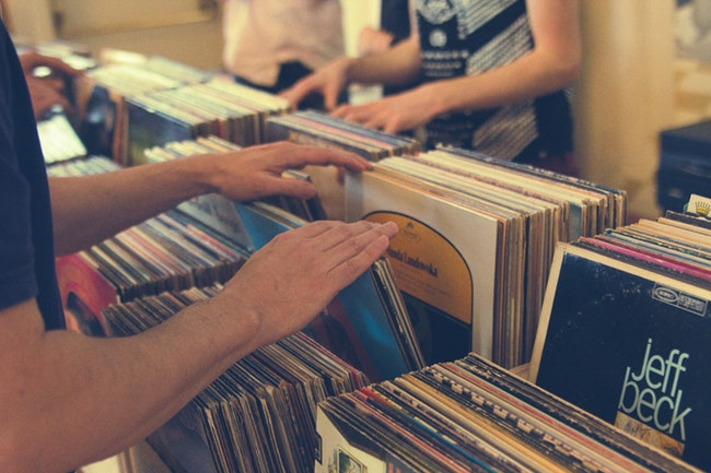 RECORD LOVERS - This is for you.