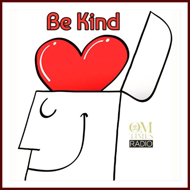 #repost from #OMTIMES  Our favorite message! The world needs more #kindness ❤️ #BeKind #kind #be #changetheworld #lifestyle #living #love #inspire #openyourheart