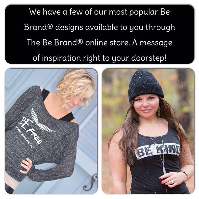 @fairytellfashions rocking the Be Free Tee and @jodiashbrook in our simple Be Kind tank.  Can you #believe it's already August?! The Be Team has been full force with the recent launch of our online store AND the Shark Tank auditions..but time flies when you're having fun, right?! Head over to our website and snag one of these great Be Tees from our online store www.bebydesigntees.com to start your new month off right! You can even get them both if you'd like, we won't tell 😉. #thebebrand #bebydesign #inspirationaltees #be #bekind #tank #befree #offtheshoulder #apparel #graphictees #inspire #shoponline #comfort #bellacanvas #august #weekend #fun #easyliving #spreadamessage #fashion #style #betee #design #meaning #purpose