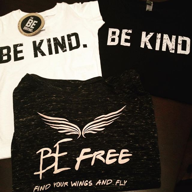Happy Monday! This Saturday our flash sale is happening on our website, so tell your friends & family! $10 off our Be Free long sleeve, Be Kind adult tank and Be Kind kids tee! Three great shirts that share a message with meaning at every age! #thebebrand #bebydesign #be #bekind #befree #beyou #spreadlove #shareamessagewithmeaning #purpose #meaning #inspire #flashsale #saturday #fashion #onlinestore #style #tees #apparel #graphictees #clothing
