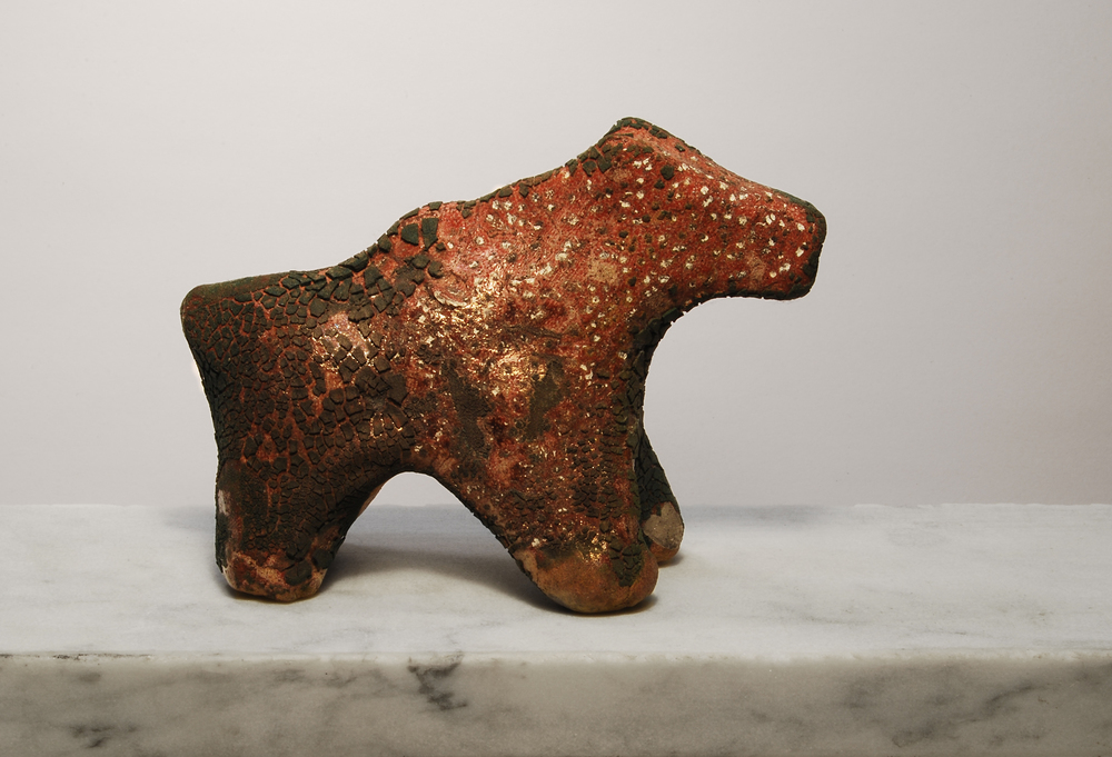 Raku Horse No. 3