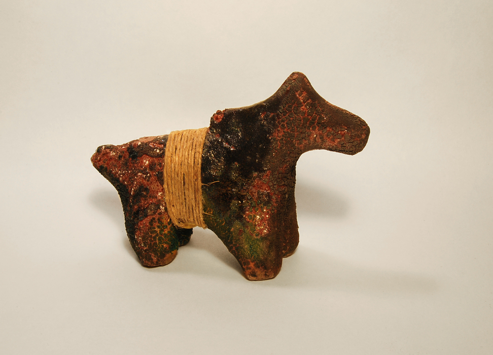 Raku Horse No. 5