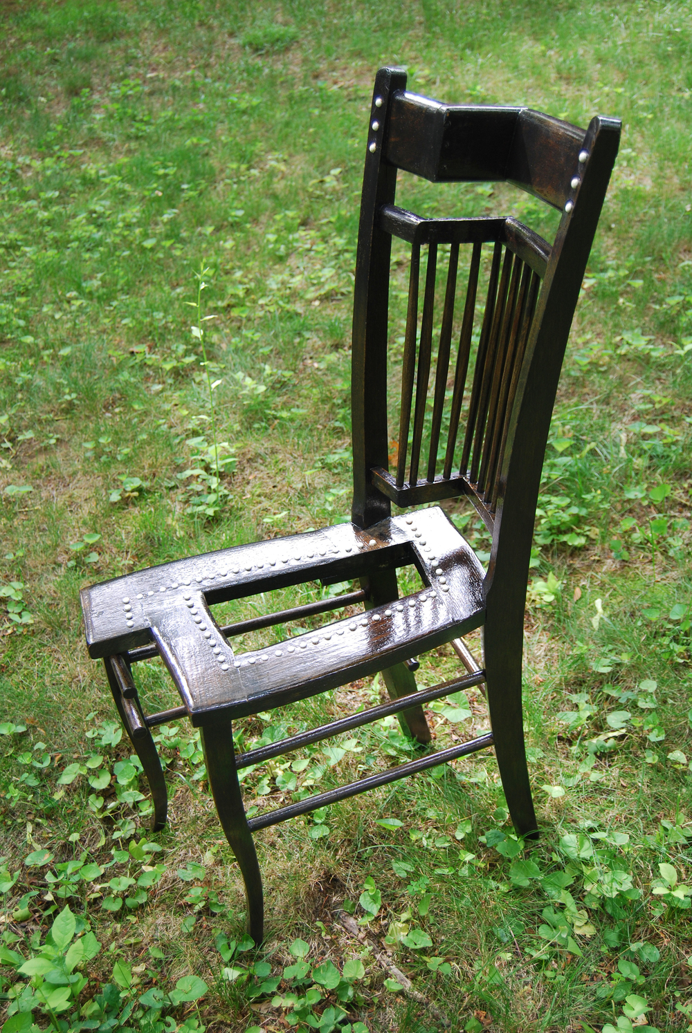 """Becoming"" Chair (side)"