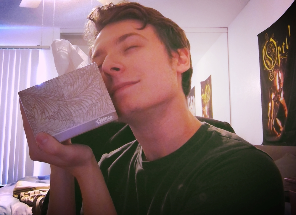 Pictured: Me and my best friend - Tissue McBox