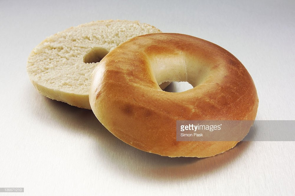 Bagels are a great way to start your day!