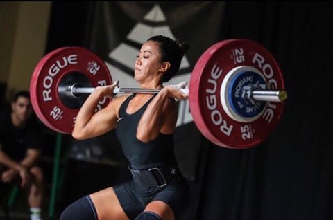 Honor Your Nutrition athlete Nikki Davidson (@pizzasnatcher) will be in action tomorrow at the 2017 @usa_weightlifting National Championships! Nikki lifts in the 53B session at 10am CST on the RED platform! You can head over to USA Weightlifting's website to watch the live stream! #honoryournutrition