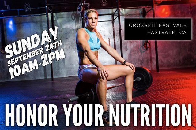 CALIFORNIA WERE COMING SOON! We will be at @crossfiteastvale on September 24th! LINK IS IN OUR BIO DON'T MISS OUT 🤙🏾 #honoryourgifts #honoryournutrition