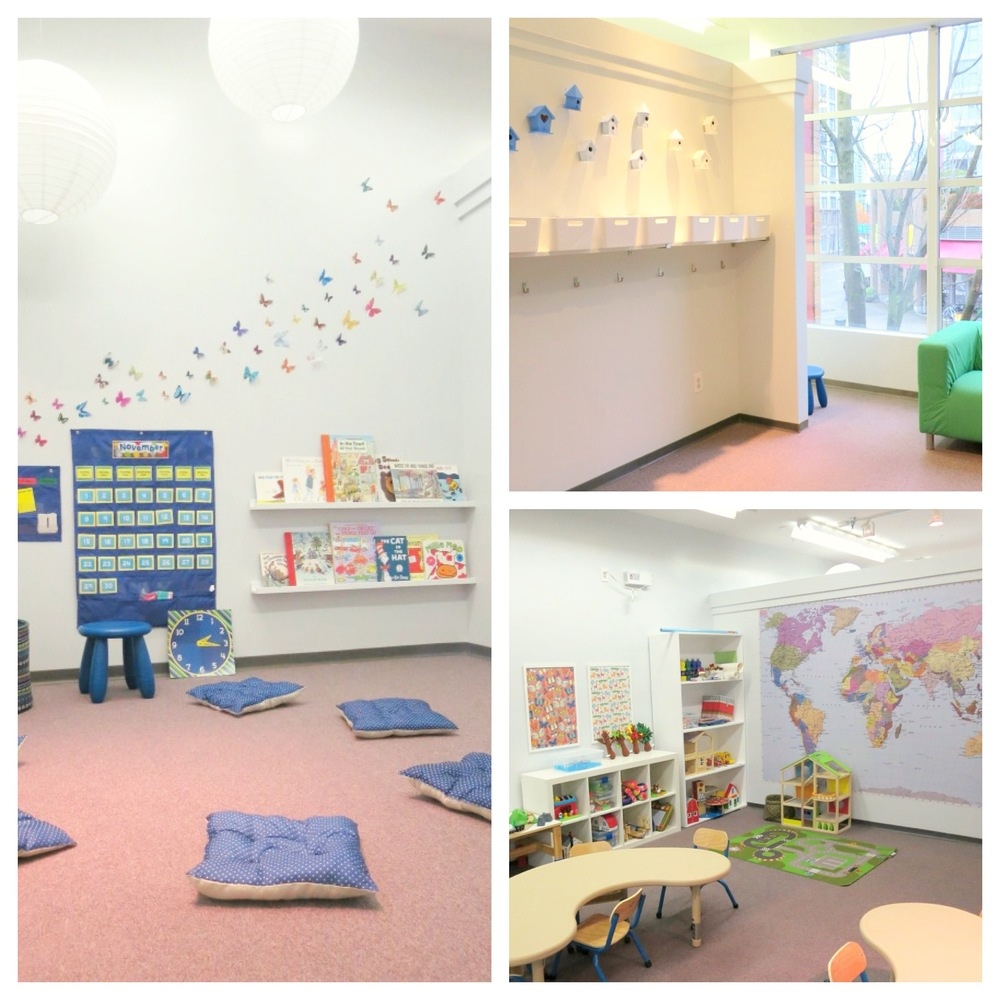 A few images from our primary Center, located in downtown Vancouver, B.C.
