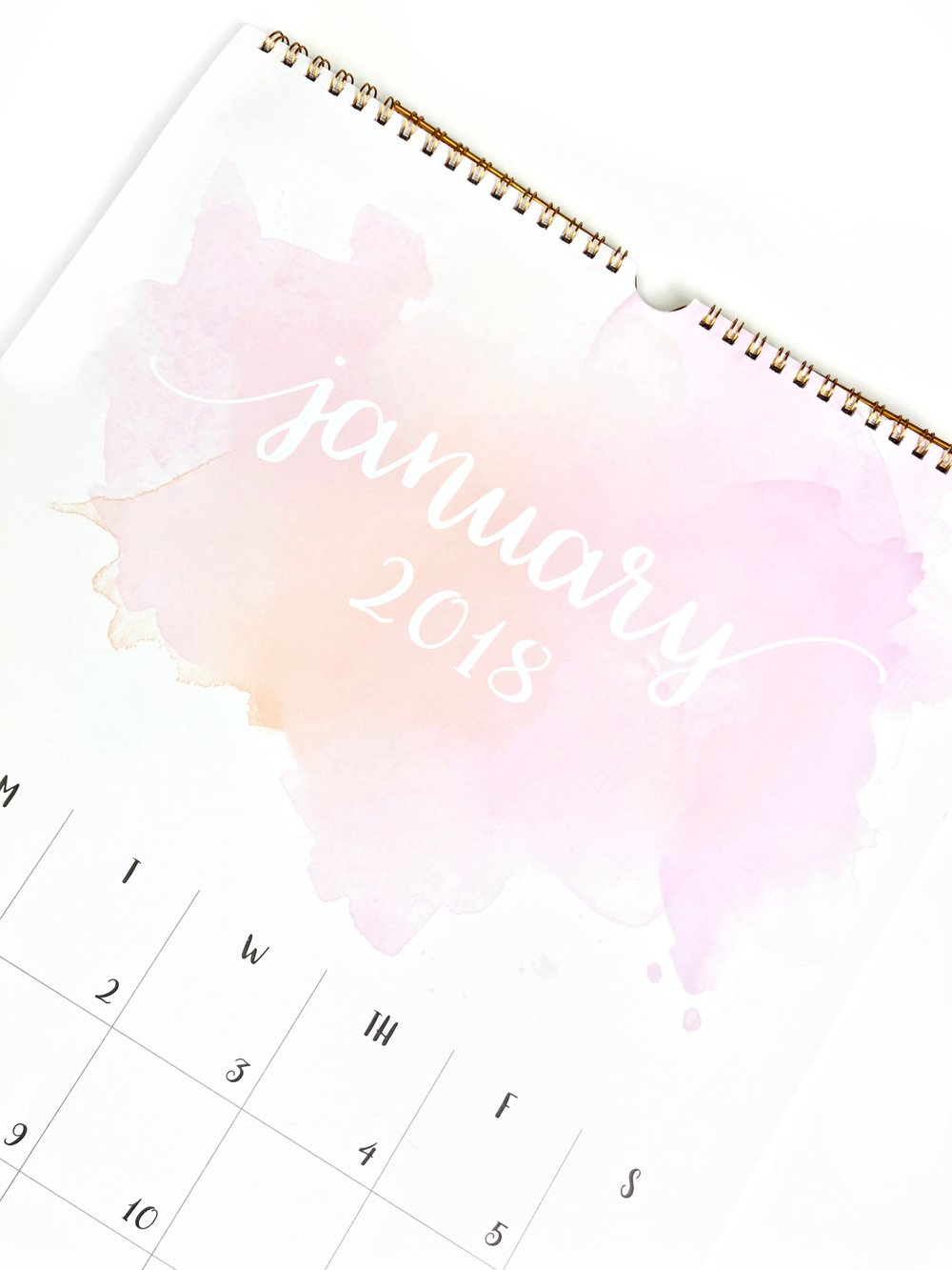 how to make your calendar days count in 2018 urbanluxe