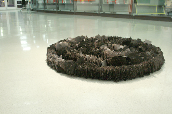 Acheron, 2009, Tar paper and wire
