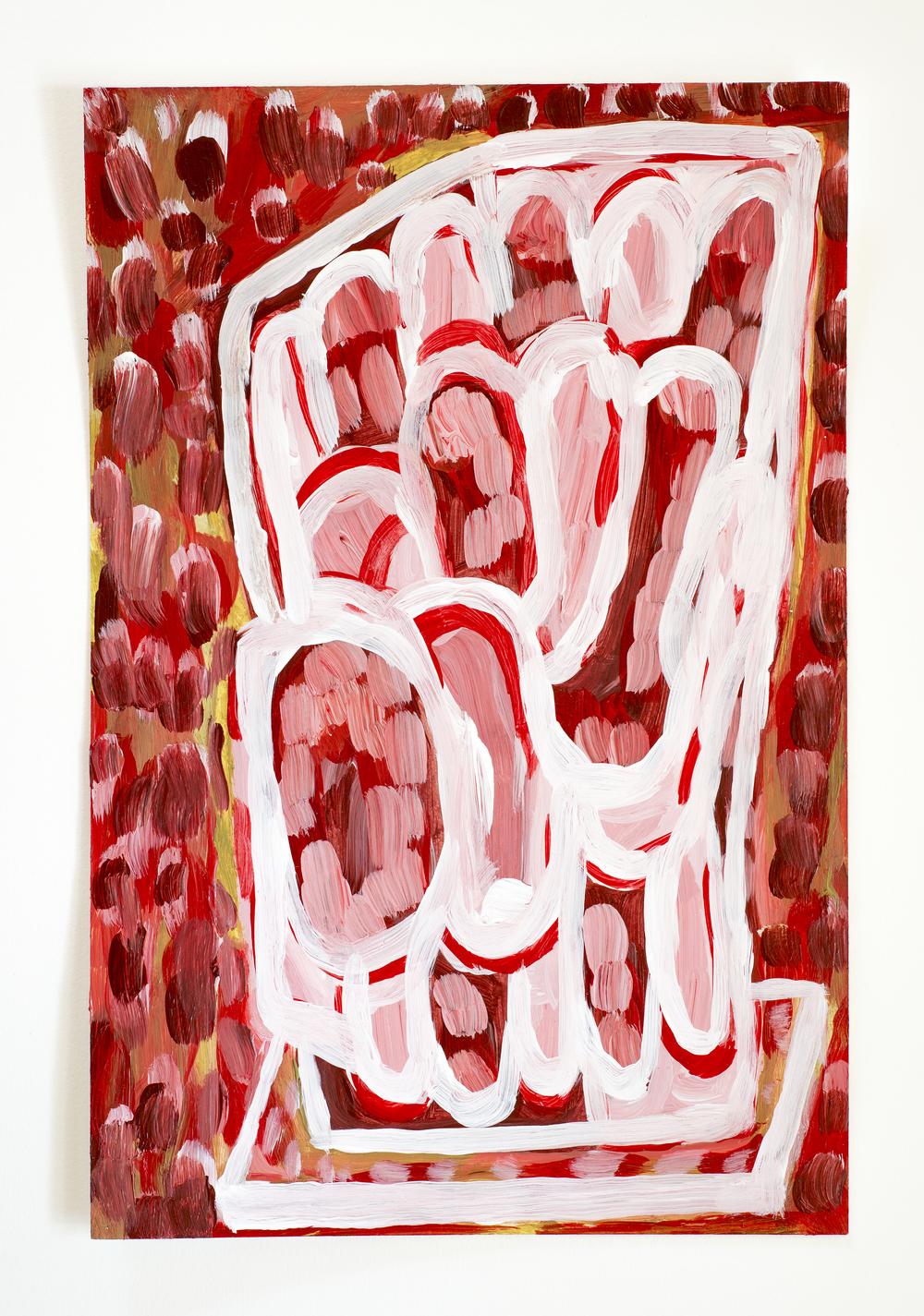 2015, Acrylic on Cardstock