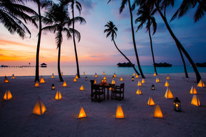 Image result for dinner maldives