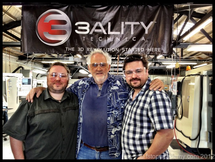 Mick, Bruce & Den at 3Ality Technica