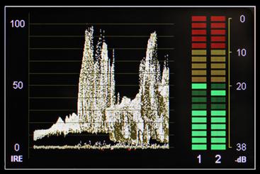 marshall monitor Waveform01
