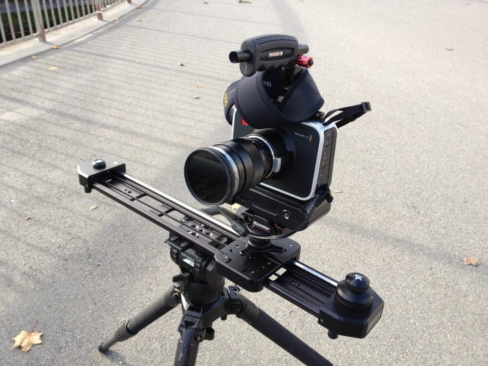 Miller legs and Kessler stealth with BMCC