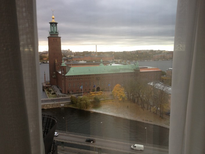 View from room in Sweden