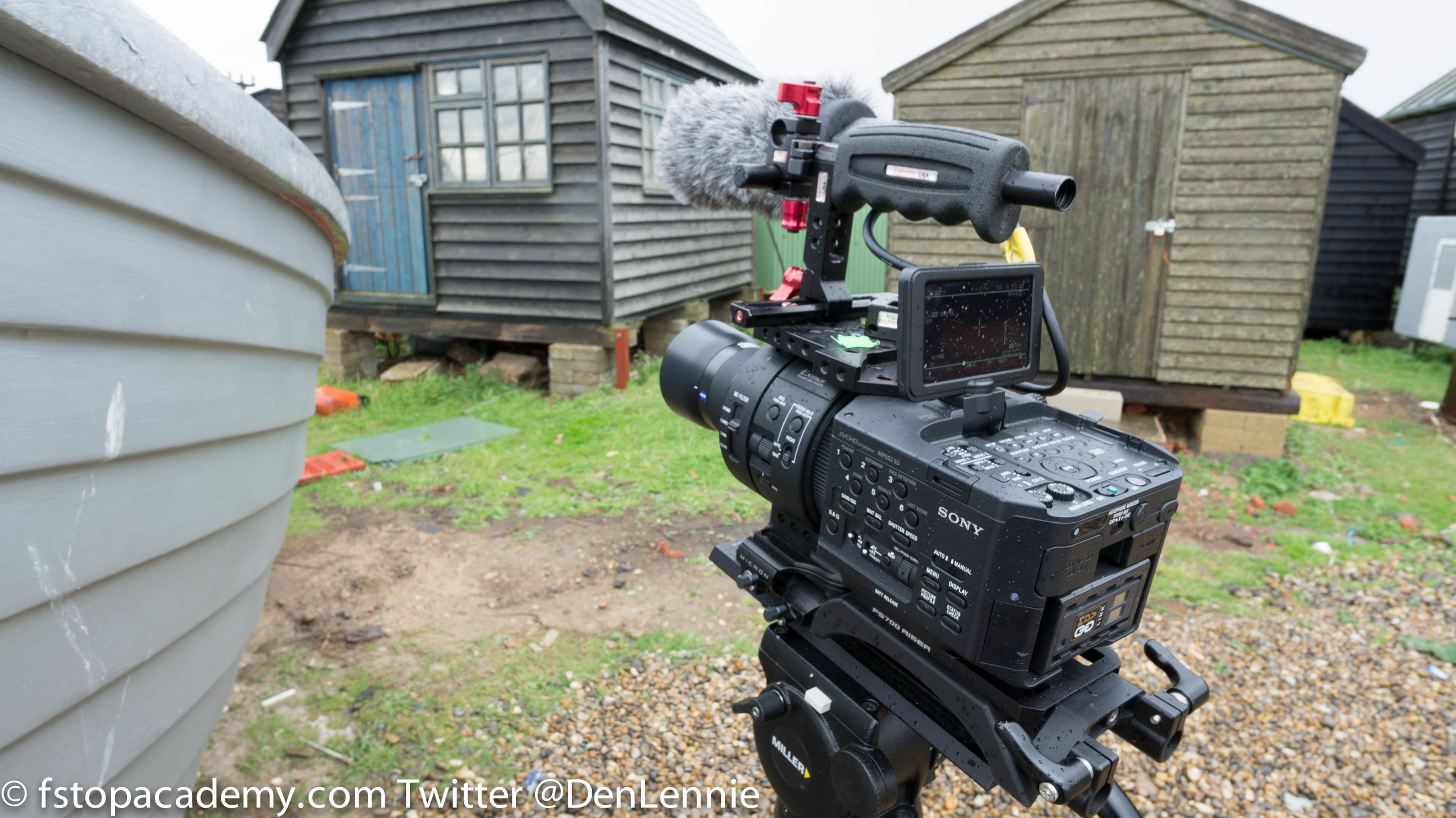 Zeiss Touit on Sony FS700