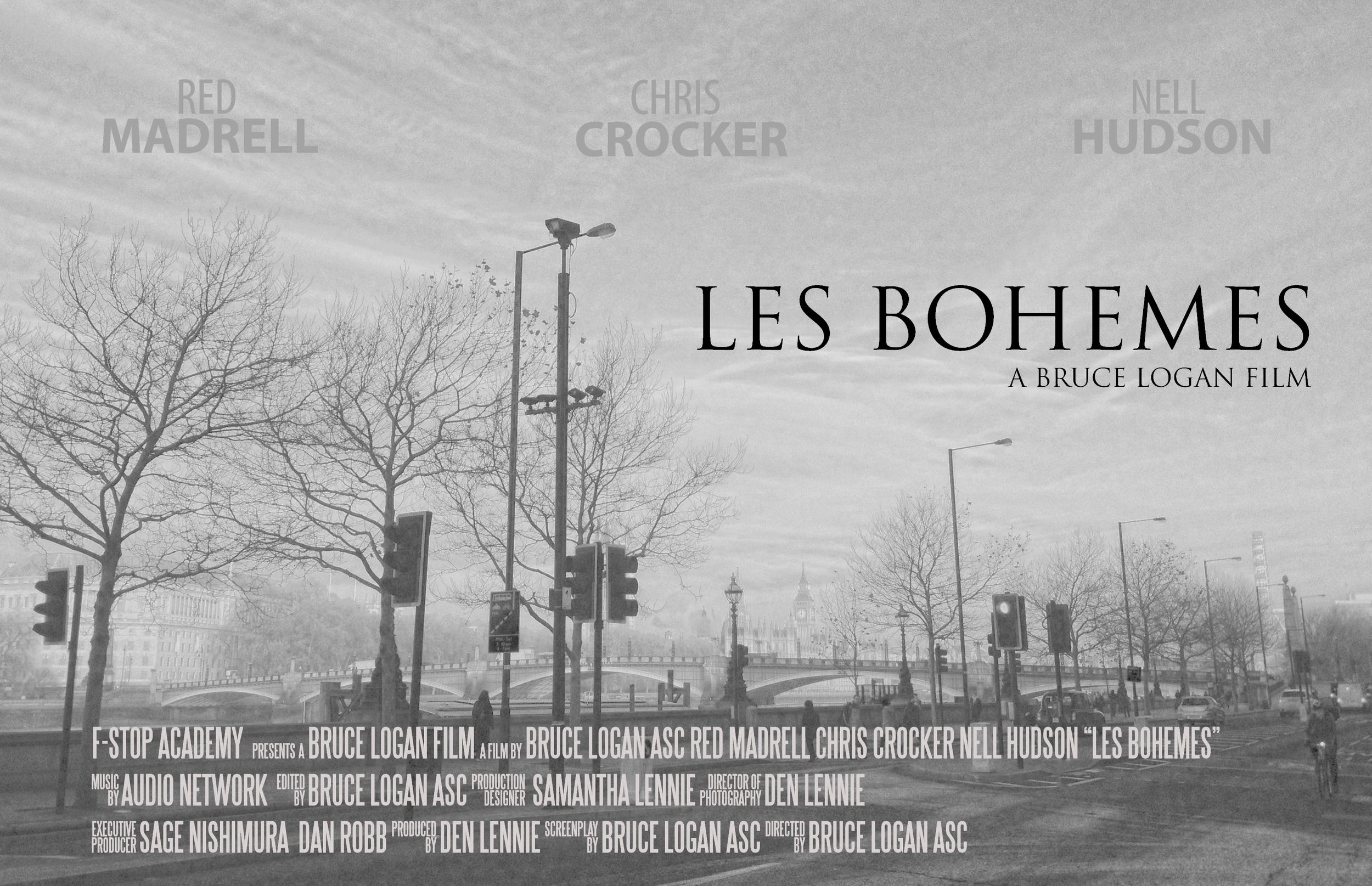 Les Bohemes Poster