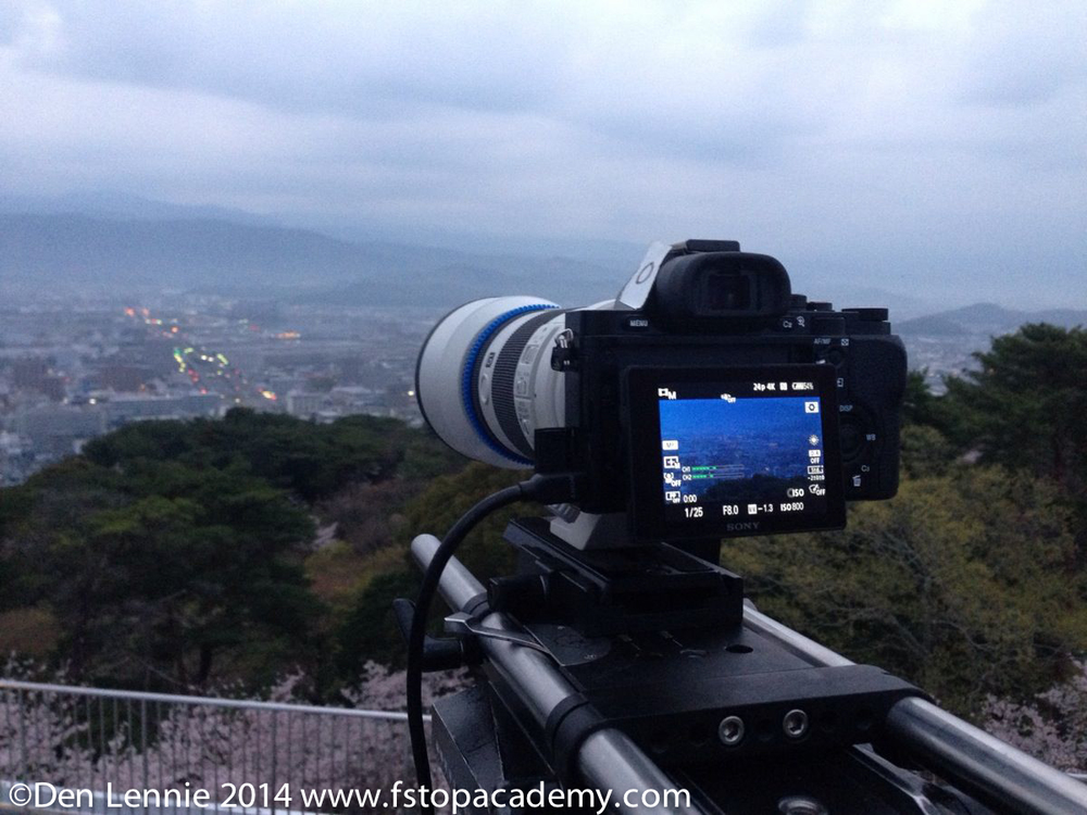 Shooting with Sony Alpha 7s in Japan