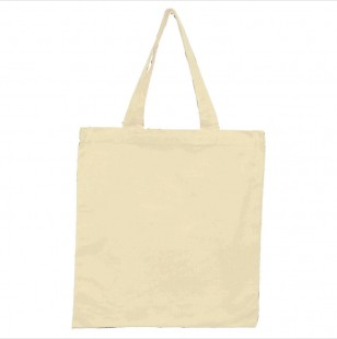 Natural - 6oz Basic Tote 15x16