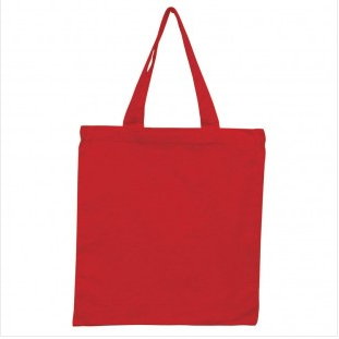 Red - 6oz Basic Tote 15x16