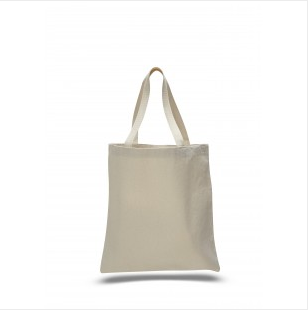 "Natural - 12oz Heavy Duty Basic Tote 15""x16"""