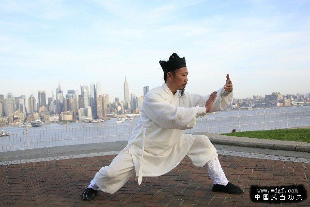 Master Zhong teaching Taiji in US