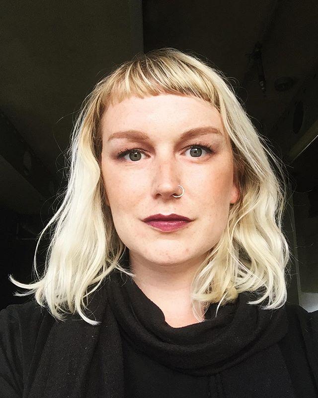 Party makeup selfie